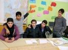 Deutsch Kurs für arabische jugendliche Flüchtlinge